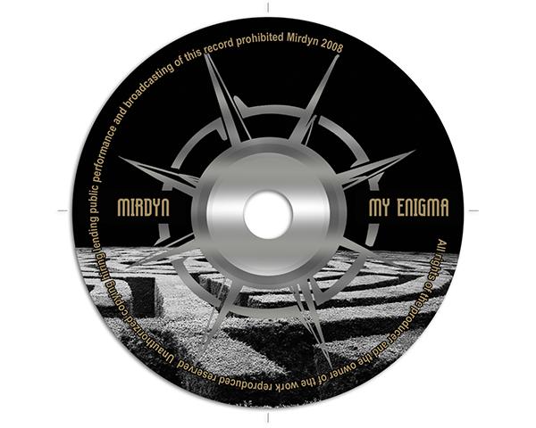 CD bedrukking ontwerp My Enigma Guitart Apeldoorn