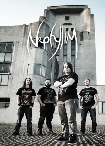 Fotoshoot Nephylim bij Radio Kootwijk Guitart bandfotografie