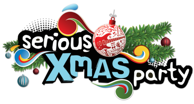 Logo on twerp 3FM Serious X-mas party Apeldoorn
